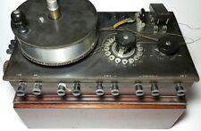Nice As-Is - Leeds & Northrup Co. Type K Potentiometer Vtg Antique 1920s L&N