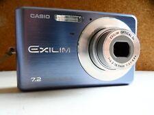 Casio EXILIM ZOOM EX-Z77 7.2MP Digital Camera - Blue