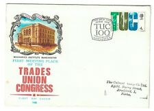 FDC First Day Cover 1968 Anniversaries Centenary TUC Manchester 100