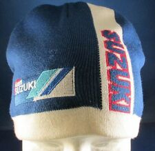Team Suzuki Motorcycles Beanie Skull Cap Hat Winter Ski Adult