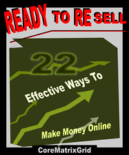 Ready To Resell 22 Effective Ways To Make Money Online