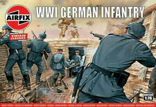 9588aab40 Airfix Vintage 48 WWI German Infantry 1 76 Scale Plastic Model Figures  A00726V