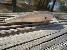 CUSTOM PAINTED  LUCKYCRAFT STYLE JERKBAIT MINNOW FISHING LURE ROOTBEER COLOR