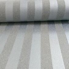 Stripe Wallpaper Stripey Striped Glitter Sparkle Embossed Silver Black