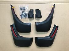 LAND ROVER NEW DISCOVERY 5 MUD FLAPS OEM STYLE MUDGUARDS FRONT REAR SET 2016+