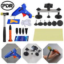 30× PDR Tool Kits Paintless Dent Repair Puller Tap Down Hammer Glue Gun Removal