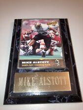 MIKE ALSTOTT TAMPA BAY BUCCANEERS CARD WITH PLAQUE 1996