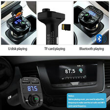 Connect Wireless Bluetooth FM Transmitter Car USB LCD MP3 Player Cigarette Zinc