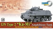 "DRAGON ARMOR 1/72 60584 IJN Type 2 ""Ka-Mi"" Amphibious Tank WITHOUT FLOATS"