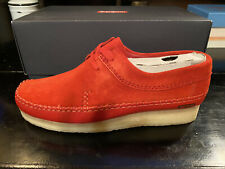 Supreme X Clarks Weaver/ Red/ Sz 10
