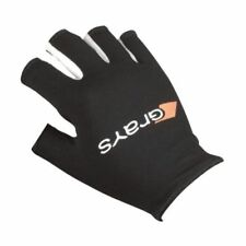 GRAYS Black Skin Fit Right Hand R/H Lightweight Fingerless Hockey Glove XS BNWT