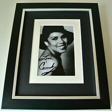 Candi Staton SIGNED 10X8 FRAMED Photo Autograph Display Young Hearts Music COA