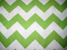 Riley Blake 1/4 Yard Spring Green Chevron Rick Rack Fabric Quilting 100% Cotton