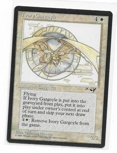 Magic the gathering ~ MTG ~ 1x Ivory Gargoyle ~ Alliances ~ M/NM