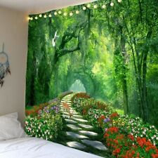 Wall Tapestry Art Fantasy Forest Tapestry Art Wall Hanging Tapestry Bedroom Room