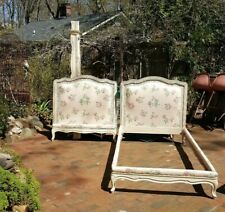 2 Twin Vintage FRENCH  BEDS