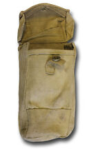 1937 PATT BASIC POUCHES. BREN PRESS STUD WWII DATES USED British Army [72576 x2]