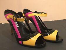 Womens Manolo Blahnik Faud Sandal Size 40 1/2 (S31)