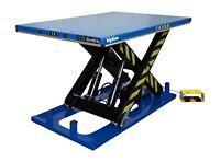 "Electric Hydraulic Scissor Lift Table Cart BigBlue 48 x68""x40in 4/8000lb 2/4Ton"