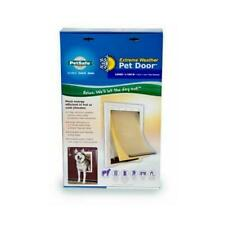 Professional Petsafe Extreme Weather Pet Door - White