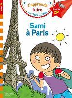 Sami et Julie CP Niveau 1 Sami à Paris Livre de Poche Neuf  6-9 ans 4/72018