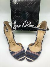 c5fb63e71f9 Sam Edelman Women s Susie Block Heel Pumps Size 10M New In Box