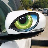 3D Cat Eyes Design Car Sticker Window Decal Vinyl Funny Waterproof Auto Decal