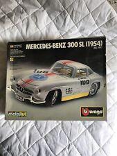 Burago 1/24 Scale Metal Model Car Kit 5532 - 1954 Mercedes-Benz 300 SL - Sealed