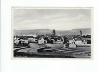 uralte AK Weiden Oberpfalz Teilansicht Kirche Panorama 1938 //36