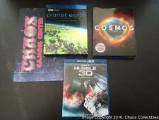 Planet Earth, Cosmos, & Hubble 3D - Blu-Ray Collection - All Mint & Complete!