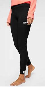Adidas Originals ED5854 Ladies Leggings 3 Strippes Trefoil Black