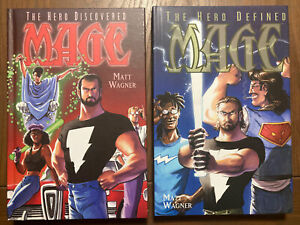 Matt Wagner's MAGE Hardcover Vol. 1, 2 The Hero Discovered, Defined Image Lot