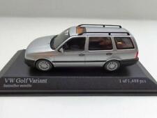 + VOLKSWAGEN VW Golf 3 Variant von Minichamps in 1:43 silber NEU 400055510