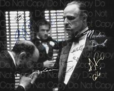 The Godfather signed Marlon Brando Pacino 8X10 photo picture poster autograph RP