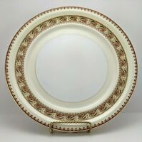 Vintage Meito China Asama Shape Dinner Plate Gold Trim