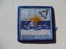 Western Suburbs South Australia District Australian  Scout Cloth Badge #