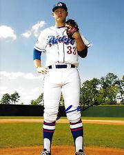 Luken Baker signed Tcu Horned Frogs Ncaa baseball Future Star Rare Coa Look!