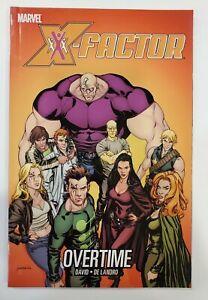 X-Factor - OVERTIME Volume 8 - RARE -  Graphic Novel TPB - Marvel