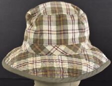 Green Plaid Gap Inc Clothing Company Brand Bucket hat cap Fitted