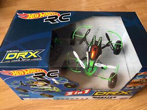 Hot Wheels RC DRX Monster X-terrain 3 in 1 Air Land Sea 8+