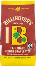 Billingtons Golden Granulated Sugar Fairtrade 500g