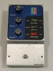 Vintage Musitronics Mu-Tron III Envelope Effects Pedal Mutron   PLEASE READ