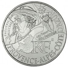 """Pièce de 10 euros des régions """"Provence, Alpes, Cote d'Azur"""" 2012."""
