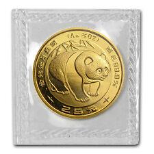 1983 China 1/4 oz Gold Panda BU (Sealed) - SKU #10268