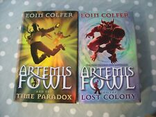 Eoin Colfer ARTEMIS FOWL BOOKS Lost Colony Time Paradox HARDBACK First Editions