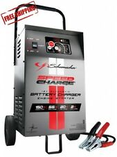 Automatic Wheeled Battery Charger Schumacher Engine Start 12V SE-1555A Starter
