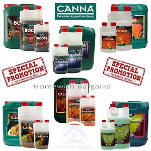 CANNA ADDITIVES: Boost Rhizotonic Cannazym PK 13/14 CalMag Flush - Hydroponics