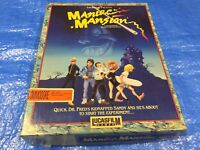 Maniac Mansion Lucasfilm Games Commodore 64 128 Complete Game in Box + Hint Map