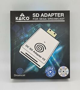 Kaico Sega Dreamcast DC SD Adaptor Adapter for Dreamshell with Boot CD