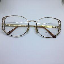 UNGARO U593 Persol occhiali da vista vintage unisex oro metal gold glasses gafas